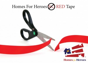 No red tape for Homes for Heroes