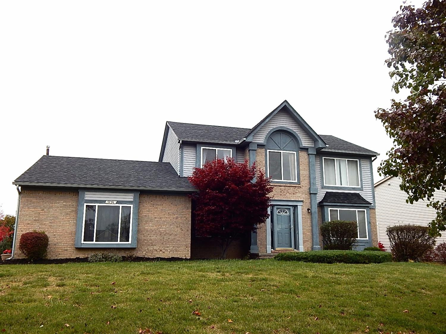 front shot of 5731 amber way