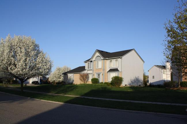 lovely homes, sidewalks, and landscaping in ashford village ypsilanti mi
