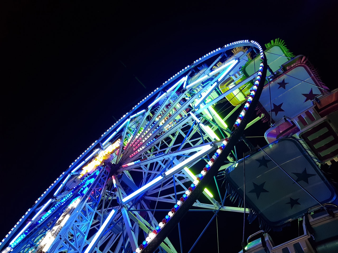 carnival rides at the milan community fair and other ann arbor spring events